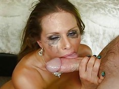 Guys male rod is making babe very wet down beneath
