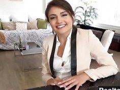 Brunette Realtor Adria Rae Takes Big Dick In Cunt