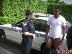 Amateur first interracial threesome time officer Paige had to put in