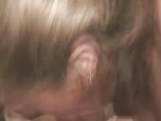 Blonde Crack Whore Sucking Dick And Taking Facial Cumshot