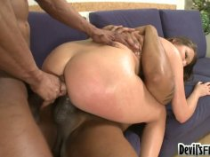 Double dick penetration is what cock hungry Stasia needs