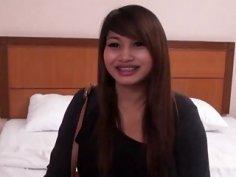 Busty Asian Slut Riding Long Schlong In Hotel Room