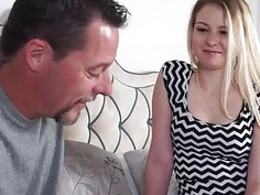 Stepdaughter Sophie Sativa gets banged by her horny stepdad
